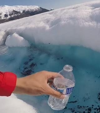 Je libo vodu z ledovce? I taková je u nás dostupná.