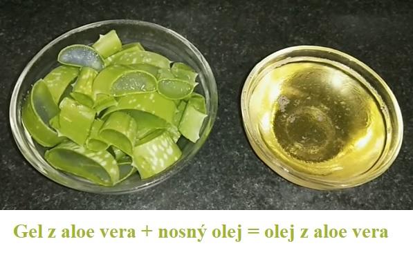 Takto vznikne olej z aloe vera