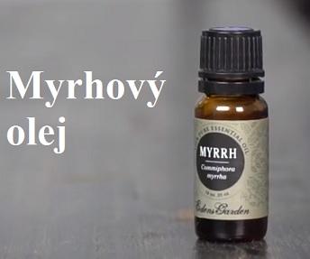 Myrhoý olej zmírňuje kašel a nachlazení, zklidňuje zažívací potíže a zlepšuje imunitu.