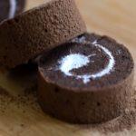 Zdravá čokoládová roláda