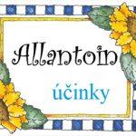 Allantoin – co to je a jaké jsou jeho účinky na pokožku