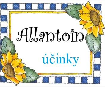 Allantoin - co to je a jaké jsou jeho účinky na pokožku