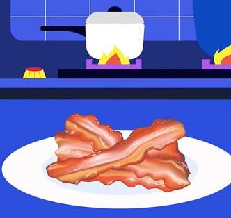 Ano, mezi zpracované potraviny patří i uzeniny. Třeba slanina.