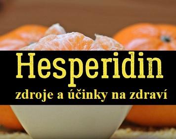 Jak vašemu zdraví může prospět Hesperidin?