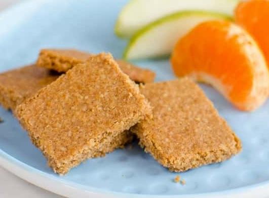 Zdravé skořicové sušenky