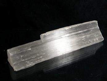 Takto vypadá krystal selenit