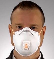 rouska s respiratorem 3m