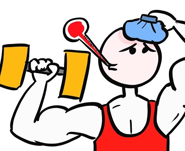Může s antibiotiky cvičit a sportovat?