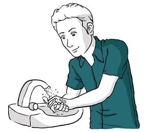 Mytí rukou je základ prevence této infekce