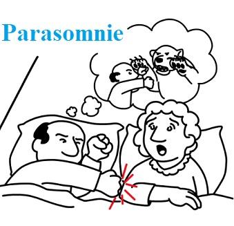Parasomnie jsou definovány jako abnormní projevy spojené se spánkem.