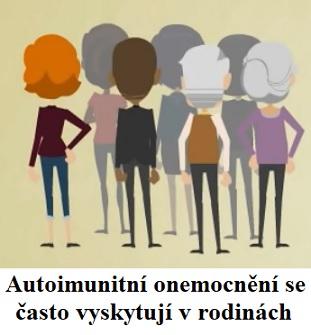 Sdružená autoimunitní onemocnění - když se autoimunitní onemocnění rády sdružují v jednom pacientovi