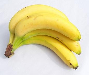 Dobrým zdrojem draslíku je třeba banán.