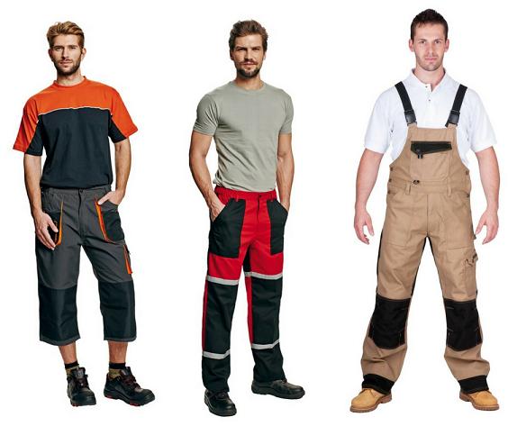 Pro specifickou práci pak můžete zvolit kalhoty se specifickým vlastnostmi