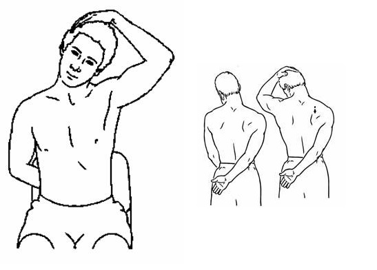 Protažení trapézových svalů