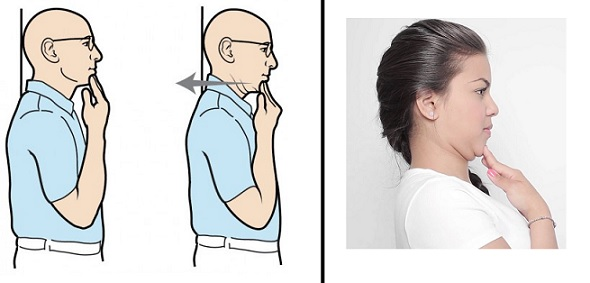 "Zkuste i cvik ""zatažená brada"""