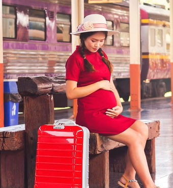 Na co myslet při cestování v těhotenství?