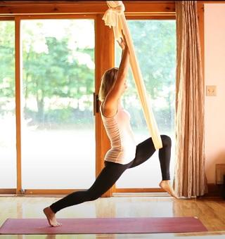 Zkuste aero jógu i vy