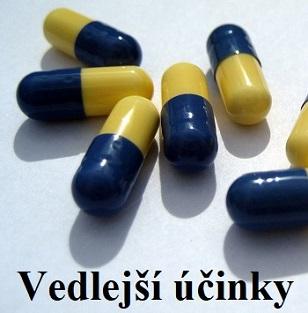 Jaké jsou nejčastější vedlejší účinky při užívání antibiotik?