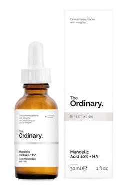 Kyselina mandlová je alfa-hydroxykyselina získávaná hydrolýzou extraktu z hořkých mandlí a je velice účinná při léčbě stárnutí pleti.