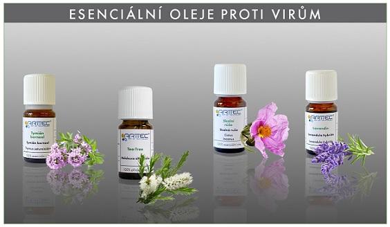 Kvalitní masážní oleje od firmy ARTTEC