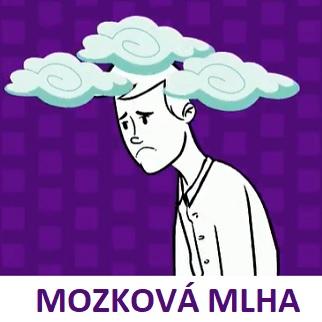 Mozková mlha - z odborného hlediska se jedná o různé dočasné poruchy poznávacích funkcí mozku