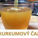 Čaj z kurkumy prospívá vašemu zdraví – recept + účinky
